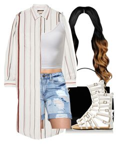 """Might not"" by queen-tiller ❤ liked on Polyvore featuring Topshop and Maison Margiela"