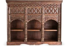 Carved Wood Console....beautiful piece for a dining room.