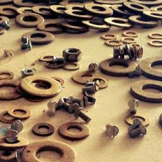 2012 Primeiras garimpagem em ferro velho