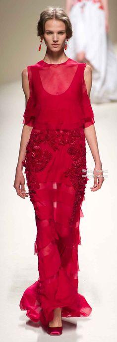 Alberta Ferretti Spring 2014 -- https://www.etsy.com/shop/Whitesrose Go here for your Dream Wedding Dress and Fashion Gown!