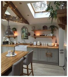 Supreme Kitchen Remodeling Choosing Your New Kitchen Countertops Ideas. Mind Blowing Kitchen Remodeling Choosing Your New Kitchen Countertops Ideas. Sweet Home, Küchen Design, Design Ideas, Interior Design, Interior Ideas, Home Design, Design Trends, Living Room Interior, Cottage Living Rooms