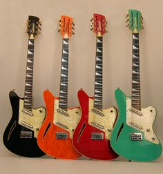 Charvel Surfcasters - any one of these would make me very happy.