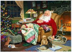 Santa's Slumber, Tom Newsom