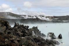 The Blue Lagoon Resort with geothermal baths ~ Reykjavik, Iceland