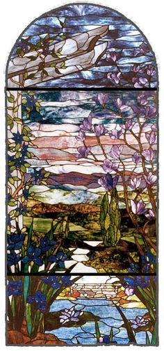 stained glass window....love this! My grandpa used to make stained glass.