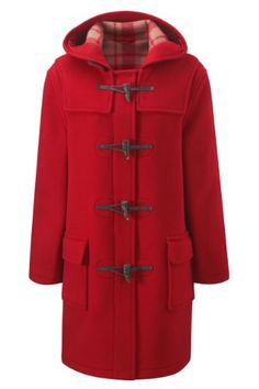Original Montgomery Womens Duffle Coat -- Red Size 10 on sale
