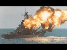 USS Iowa (BB-61) guns! (YouTube)