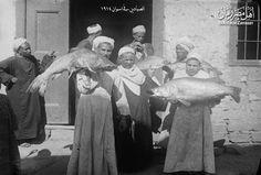 الصيادون في اسوان سنة 1914