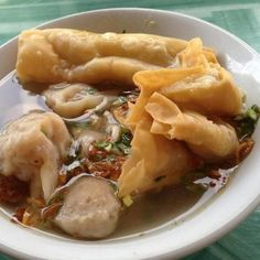 Bakwan Malang, East Java - Indonesian Noodle Dish