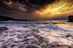 Stormy sunset. by Pedro López Batista on 500px