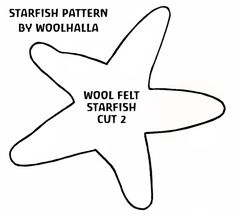 Free Felt Craft Patterns | How To: Make a Felt Starfish | Natural Kids Team