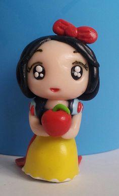 Snow White polymer clay disney princess