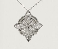 handmade filigree necklace - Eleuterio jewels
