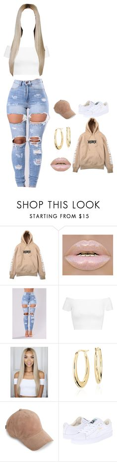 """heyy"" by bodakjello ❤ liked on Polyvore featuring Justin Bieber, Alice + Olivia, Blue Nile, rag & bone and Puma"