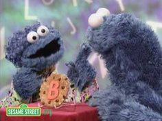 ▶ Sesame Street: Cookie's Letter of the Day: B - YouTube