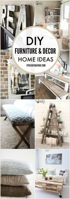 DIY Furniture and Ho