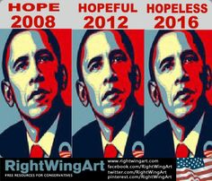 The hoplessness that is Obama