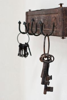 Weekend Escape: A Beautiful Villa On Ibiza Antique Keys, Vintage Keys, Ibiza, Old Keys, Interior Minimalista, Beautiful Villas, Key Lock, Spanish House, Key To My Heart