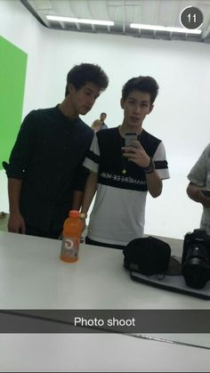 Cameron Dallas and Carter Reynolds ~ Snapchat ~