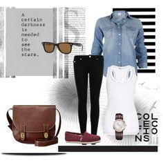 Un look relajado para la mitad de semana.  1.- Lentes Ray Ban  http://fashion.linio.com.mx/a/rayban  2.- Reloj Ck extent  http://fashion.linio.com.mx/a/ckext