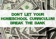 Homeschool 101: Buying Curriculum, Set a Budget, Save a Buck