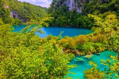 Plitvice Lakes - 10 most awe-inspiring lakes in the world #CheapFlightsGG