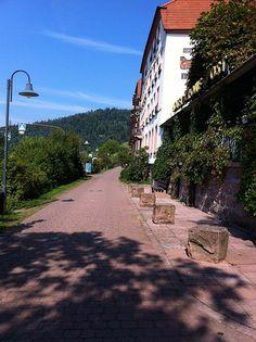 Promenade beim Neckar