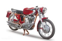 The 1965 MY Ducati 200 Elite has features such as a drum braking system both in the front and in the rear, a chromed exhaust system w...