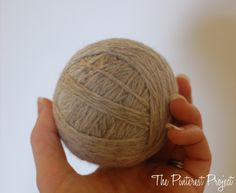 DIY Wool Dryer Balls | The Pinterest Project