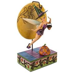 Witch Figurines Collectables | Disney Light-up Tinker Bell Witch Extravagant Collectible Figurine By ...