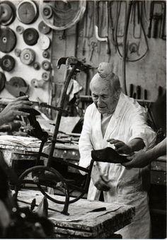 Joan Miró, by Clovis Prevost, 1974