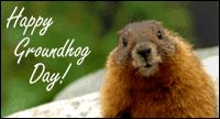 No matter how long the winter, spring is sure to follow. --English Proverb Happy Groundhog Day!