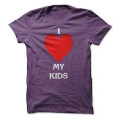 (Top Tshirt Facebook) I Love My Kids T-Shirts I Love My Kids Shirts at Tshirt design Facebook Hoodies, Funny Tee Shirts