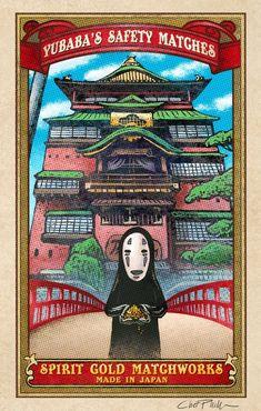 Yubaba's Spirit Gold Matchbox Art- x matted signed print Studio Ghibli Poster, Studio Ghibli Movies, Illustration Botanique, Japon Illustration, Poster Anime, Matchbox Art, Poster Prints, Art Prints, Funny Art