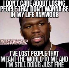 50 cent got it rite... Except for a girl you better hope she doesn't say fine haha but true though.