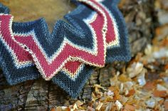 Thistle  Knitted Statement Necklace by amylawrencedesigns on Etsy, £38.00