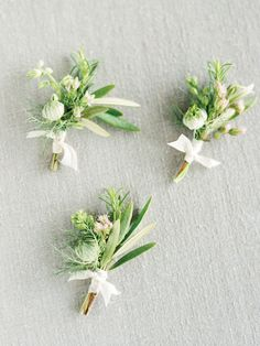 Spring boutonnieres.