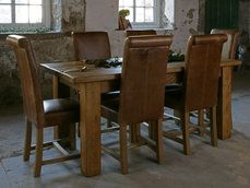 Indigo Furniture - - Plank Chunky Table