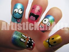 Crazy nail art google search girly of all girlyes pinterest by artisticnailart from nail art gallery prinsesfo Images