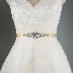 2015 Shining Crystal Bridal Sash Hot Selling Bridal Accessory with Ribbon Tie Cheap Wedding Belt Bridal Sash Popular Bridal Belt S29 Online with $31.41/Piece on Yupan's Store | DHgate.com