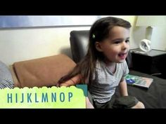 ▶ ABC song french, la chanson de l'alphabet, Lina (3) - YouTube