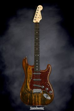 Fender Custom Shop Spalted Maple Top Artisan Stratocaster - Buckeye, Rosewood | Sweetwater.com