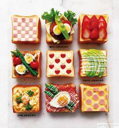 Breakfast Bread Recipes, Snack Recipes, Dessert Recipes, Desserts, Cute Food, Good Food, Yummy Food, Food Cartoon, Food Garnishes