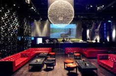 Comprising of a club, lounge, terrace and restaurant, this semi-private spot is one of Shanghai's longstanding nightlife institutions. Hookah Lounge, Bar Lounge, Hotel Lounge, Restaurant Lighting, Restaurant Bar, Club Ambiance, Night Club Dance, Shanghai Night, Nightclub Design