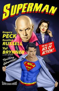 #film #vintage #poster #famous #superman