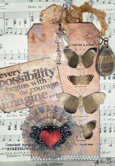 music - bling - butterflies - pink - and the saying so fits