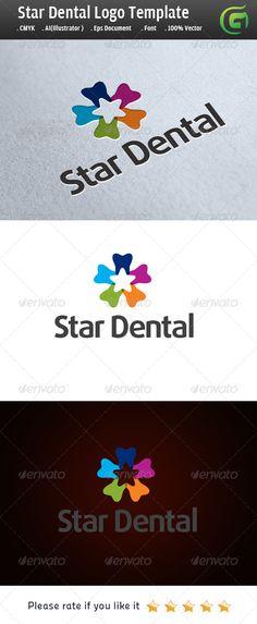 Star Dental  logo for sale just 29$