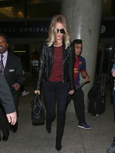 Rosie Huntington-Whiteley Proves She's the Best at Model-Off-Duty Style