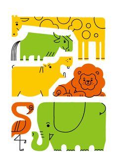 Animals 01 on Behance
