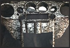 Harley Davidson faring customized with Hydrographics in Reaper Skulls pattern.  Find us on Facebook/alexandersgeneralstore